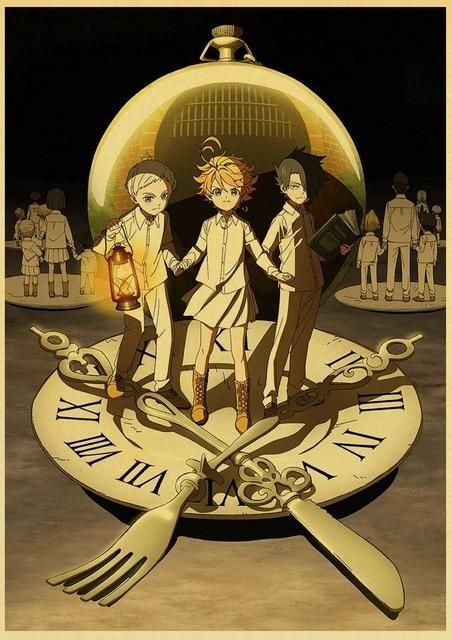 The Promised Neverland Poster Prints - 42X30 CM / E181 2