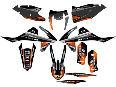 2017 2018 2019 Fits Ktm Exc Excf Xc Xcw 150 250 300 350 Graphics Deco Xc W Exc F Ktm Exc Ktm Racing Stripes