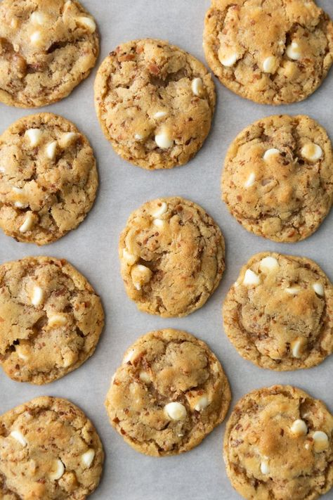 white chocolate chip cookies recept
