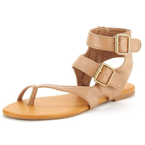 738b0172135b DREAM PAIRS CROX New Women Open Toe Fashion Crisscross Valcre Ankle Straps  Summer Design Flat Sandals     We appreciate you for visiting our image.