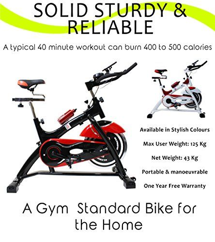 Olympic Es701 Indoor Cycling Bike Black Red Indoor Cycling Bike Workout Machines Indoor Cycling