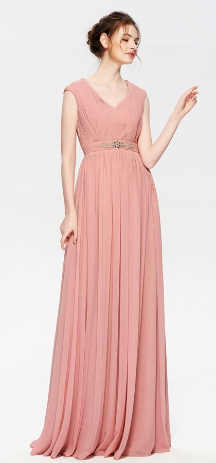 Dusty Rose Modest Mother Of The Bride Dresses Long Mother Of The Bride Dresses Long Bride Dress Mother Of The Bride Dresses