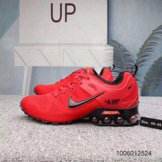 Mens Nike Air Shox Ultra 2019 University Red Black Footwear ...