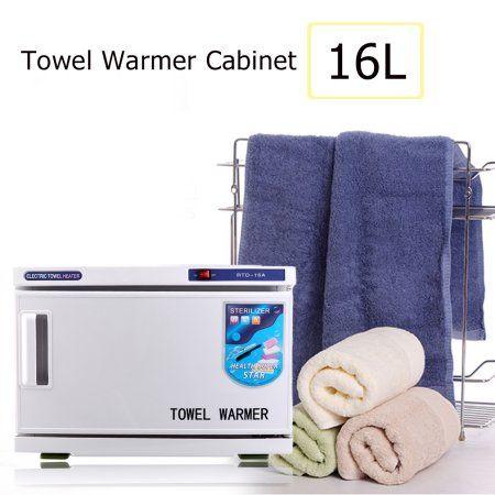 Electronic Hot Towel Warmer 2 In 1 Hot Uv Sterilizer Towel Warmer Cabinet Spa Beauty Salon Equipment 16l Towel Warmer Beauty Salon Equipment Towel
