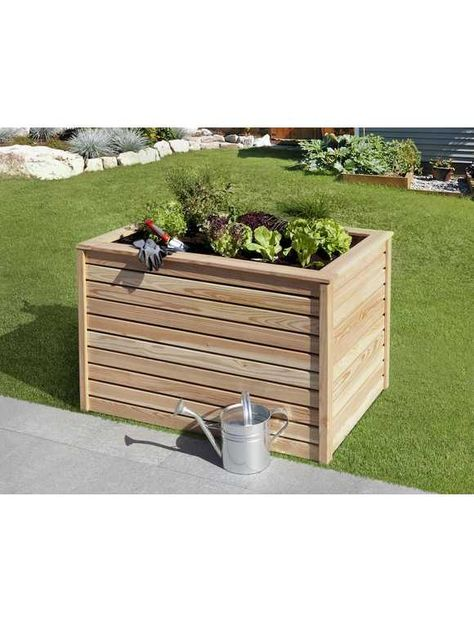 Mr Gardener Hochbeet Larche 120 X 80 X 80 Cm Garden Outdoor Decor Outdoor Storage