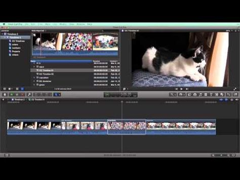 VIDEO Using Timelines in Final Cut Pro Xu2014how to use both project - project timelines