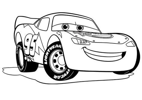 Cars 3 Flash Mc Queen Coloriage Cars 3 Coloriages Pour Enfants