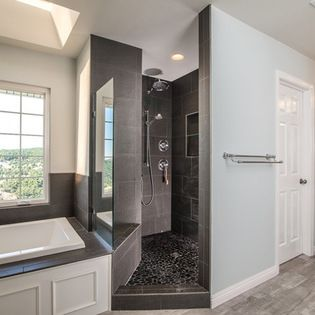 Contemporary Bath Design Ideas Pictures Remodel And Decor Contemporary Baths Contemporary Bathroom Bathrooms Remodel