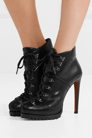 Alaia High Heel Ankle Boots