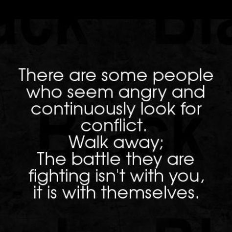 Choose your battles and your friends wisely...