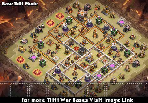 Best Coc Th 11 War Base 7