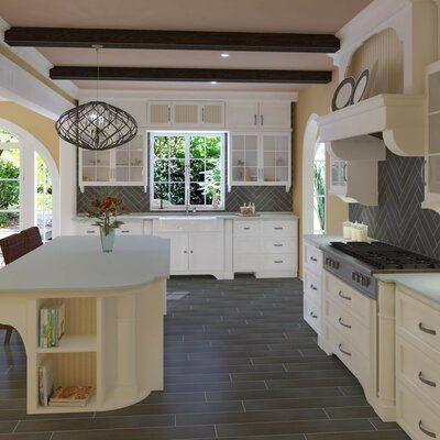 Pixl Harmony Grove 6 X 36 Porcelain Wood Look Tile Wayfair In 2020 Dream Home Design Kitchen Remodel Wood Look Tile
