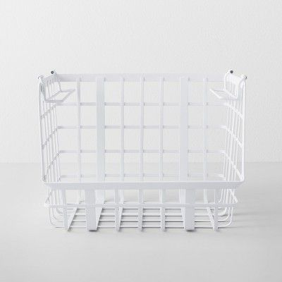 Open Front Stackable Basket White - Made By Design™ in 10 ...
