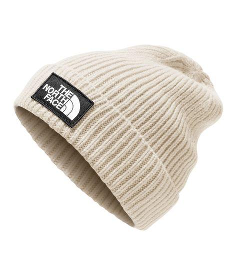 The North Face Logo Cuff Beanie - White Dog Beanie, Knit Beanie, Beanie Hats, Snapback Hats, Beanie Knitting Patterns Free, Crochet Beanie Pattern, Hat Patterns, West Coast Choppers, Helmet Hair