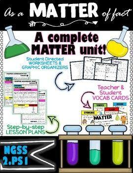2nd Grade NGSS- Matter Unit | STEM activities | Next