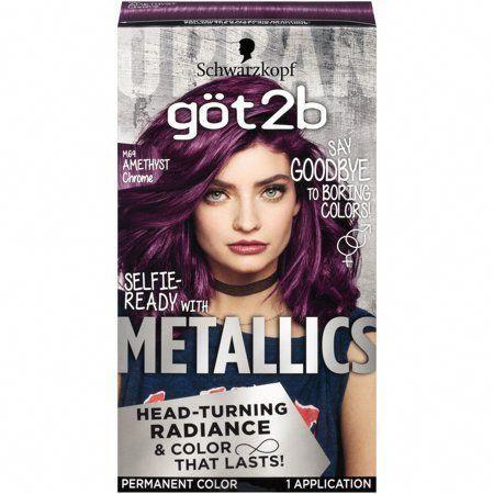 Got2b Metallic Permanent Hair Color M71 Metallic Silver Walmart