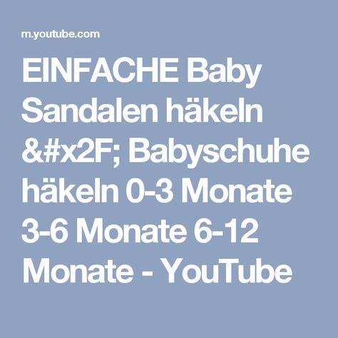 Babyschuhe häkeln – Turnschuhe – Sneakers Teil 3 Lasche by BerlinCrochet
