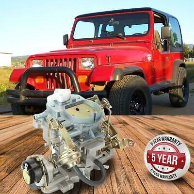 Carburetor Carb For Jeep Wrangler BBD 6 Cylinder Engine 4.2 L 258 CU Engine