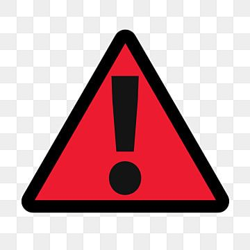 Traffic Sign With Black Border On Red Triangle And Exclamation Mark Black Exclamation Mark Traffic Traffic Signs Png Transparent Clipart Image And Psd File F In 2020 Traffic Signs Traffic Warning