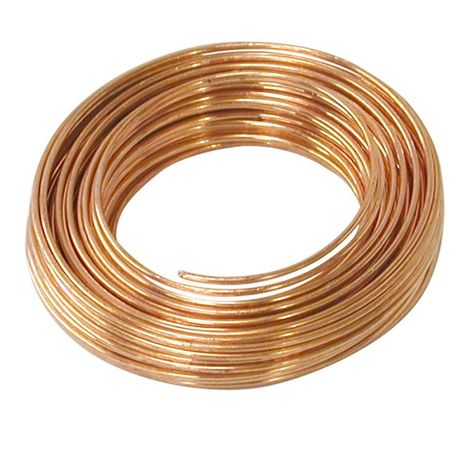 Soft and flexible, this OOK Gauge Copper Hobby Wire One Roll is a perfect choice for art projects, fastening and crafts. Wire Wrapped Jewelry, Wire Jewelry, Jewelery, Wire Bracelets, Wire Earrings, Silver Jewelry, Jewellery Box, Wire Crafts, Jewelry Crafts
