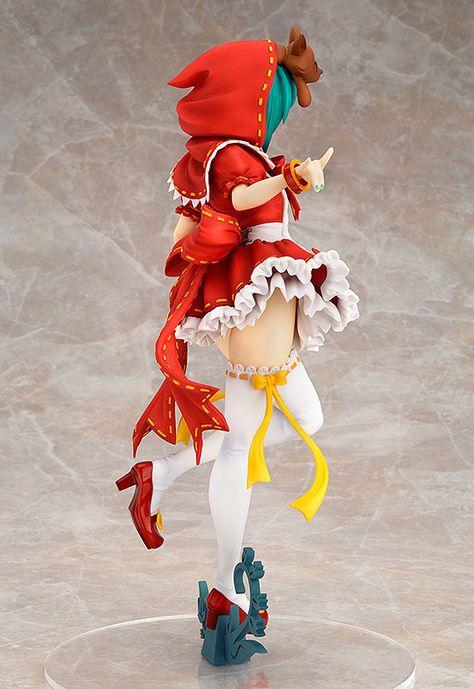 Vocaloid Hatsune Miku Project Diva Mikuzukin Cosplay Costume Red Riding Hood