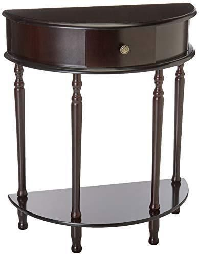 Frenchi Home Furnishing End Table/Side Table, Espresso