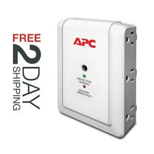 APC 6-Outlet Wall Surge Protector 1080 Joules SurgeArrest Essential P6W