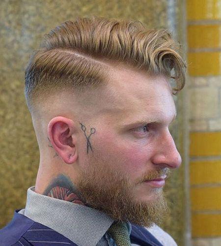 Top 5 Frisuren Fur Manner Mit Barte Frisuren Haarschnitt Manner Herrenhaarschnitt
