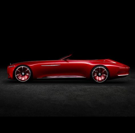 Vision Mercedes Maybach Cabriolet Up Close In 2020 Mercedes