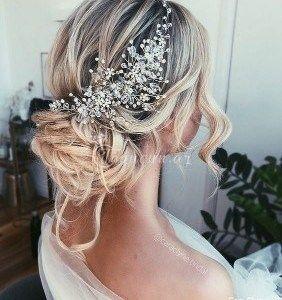 Gelin Sac Duzumleri ən Yeni Gelin Sac Duzumleri Burada Vintage Wedding Hair Wedding Hairstyles For Long Hair Hair Styles