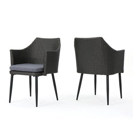 Outstanding Patio Garden Wicker Dining Chairs Dining Chairs Gmtry Best Dining Table And Chair Ideas Images Gmtryco