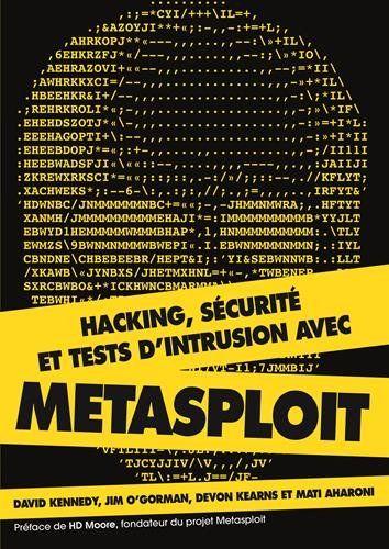 Telecharger Hacking Securite Et Tests D Intrusion Avec Metasploit Francais Pdf Perigueux Pdf