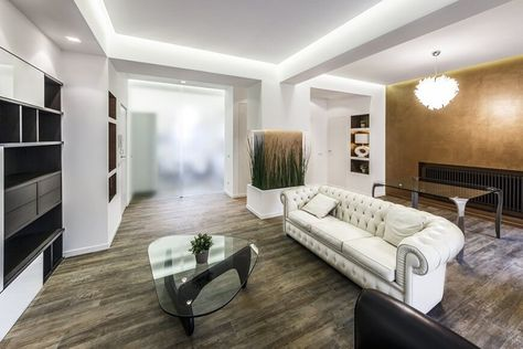 12 Types of Living Room Flooring (2020 Ideas) | Interior design ...