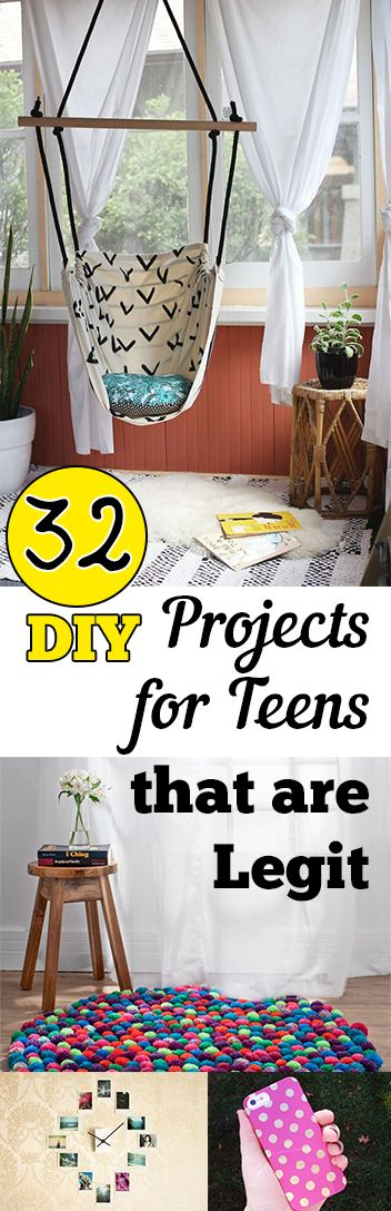 32 DIY Projects for Teens that are Legit - My List of Lists