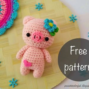 Amigurumi Narwhal free pattern - A little love everyday! | 300x300