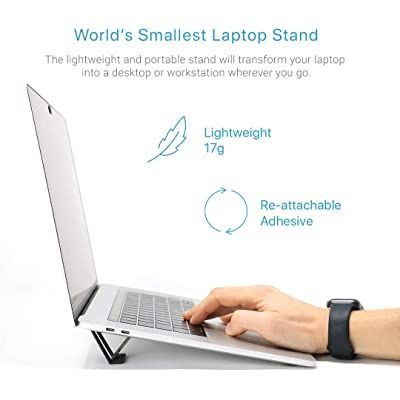 Andana El Soporte Más Pequeño Invisible Portátil Plegable Mini Y Micro Para Laptop Tableta Tableta Soporte Mini