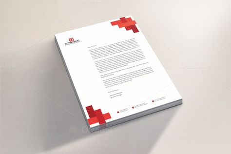 Corporate Letterhead Letterhead, Letterhead design and Corporate - corporate letterhead
