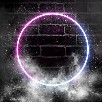 Abstract Neon Light Wall With Smoke Effect Neon Border Frame Png Transparent Clipart Image And Psd File For Free Download Light Background Images Background Wallpaper For Photoshop Neon Lighting