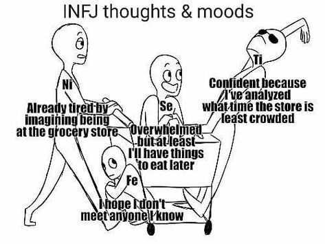 This was too spot on : INFJmemes