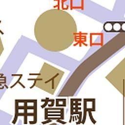 用賀駅周辺 半径500メートル 用賀 地図 駅