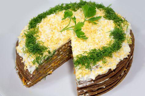 диетический куриный печеночный торт рецепт с фото