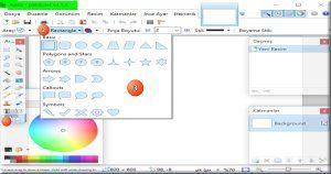 Paint Net Resim Editor Programina Geometrik Sekiller Shapes Nasil Eklenir Resim Sekil Free