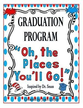 free preschool graduation program template