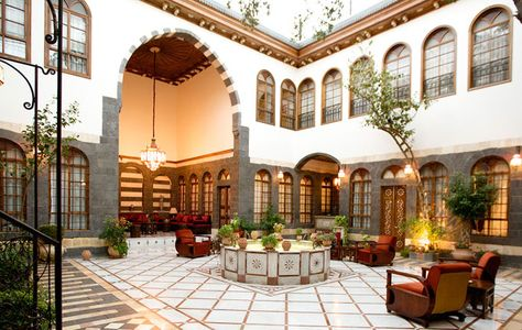 Luxury In Damascus At Beit Zafran Hotel De Charme Architecture