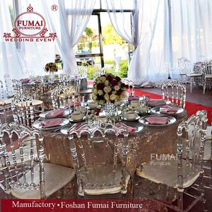 Source Wholesale Cheap Used Bulk Silver Gold White Wedding Plastic Resin Crystal Transparent Clear Acrylic Tiffany Wedding Chairs Crystal Resin Chairs For Sale