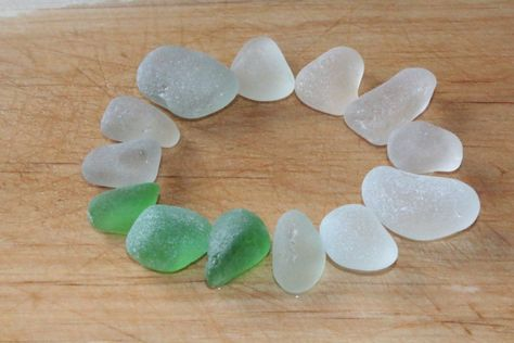 White sea glass for jewelry making 13 pcs Thick sea glass for wind chimes Green beach glass Ocean decor Beach wedding decor Sea glass supply,  #Beach #Beachglassjewelrywindchimes #Chimes #Decor #Glass #Green #jewelry #Making #Ocean #pcs #Sea #supply #thick #Wedding #White #Wind
