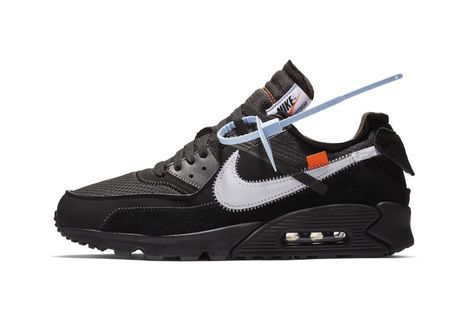 hot sale online 7dffc 7204c Off-White™ x Nike Air Max 90 Now Available at StockX desert ore black white  running suede nubuck leather mesh virgil abloh