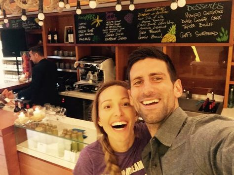Novak Djokovic On Djokovic Vegan Vegan Restaurants Boris Becker