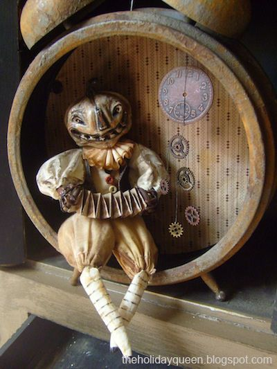 Clockmaker Pinch me, I must be dreaming!! Pinterest Creepy - halloween decoration themes