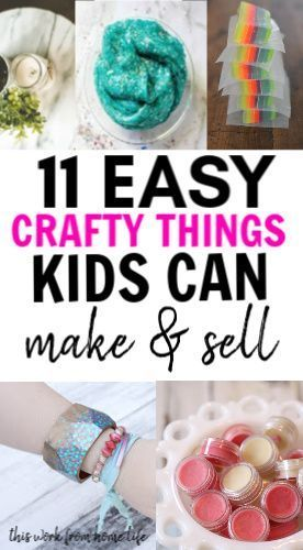 Easy Things Kids And Make And Sell For A Profit At School Bazaars